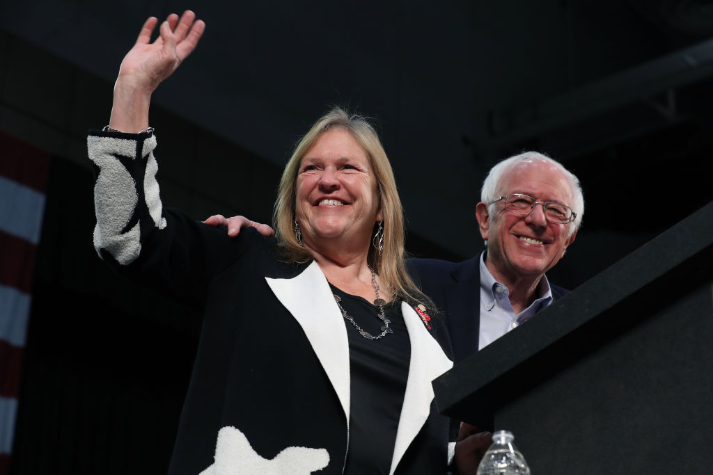 Bernie Sanders and Jane Sanders