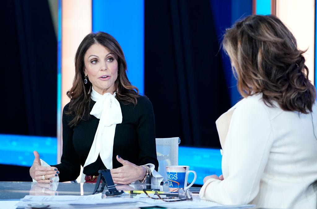 Fox anchor Maria Bartiromo interviews Bethenny Frankel
