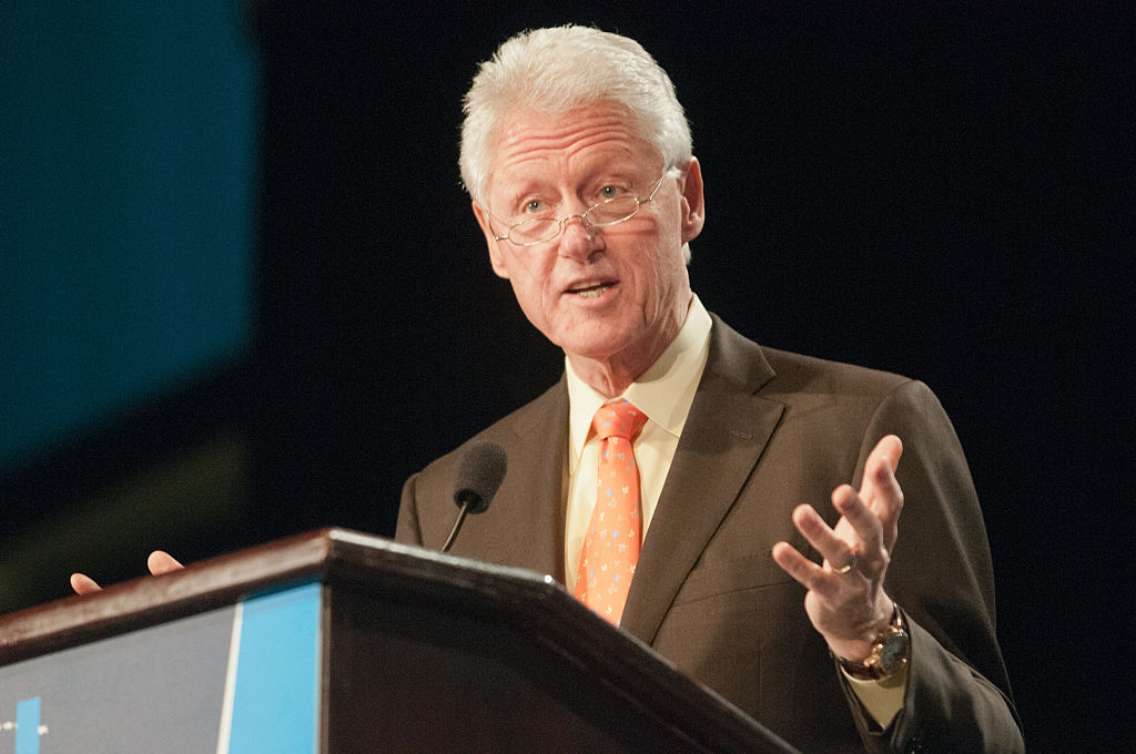 President Bill Clinton at an event in March 2012