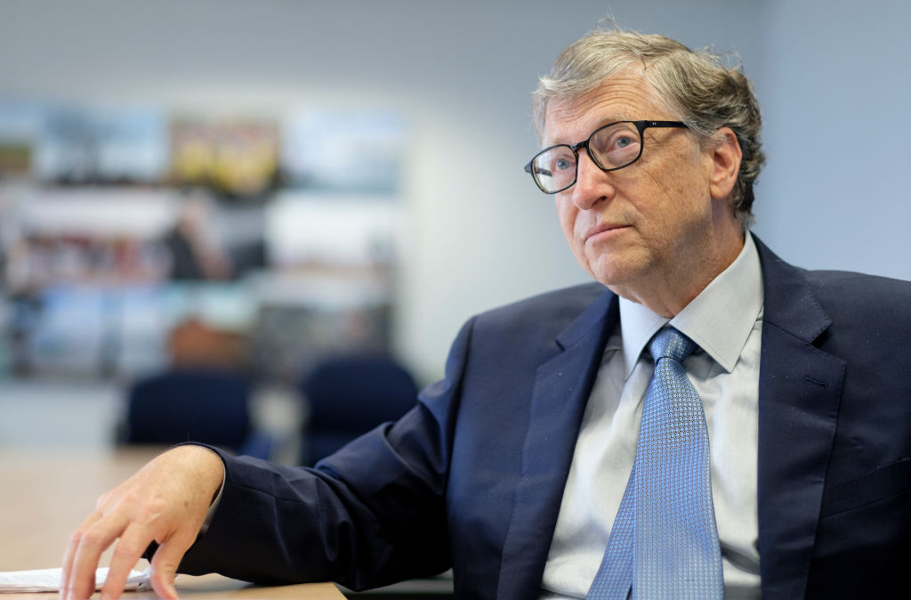 Bill Gates in an interview in October 2018