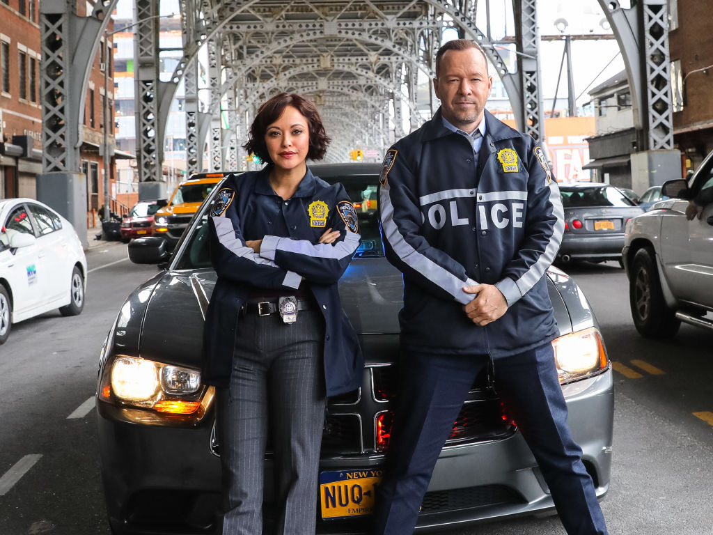 Donnie Wahlberg and Marisa Ramirez on 'Blue Bloods'