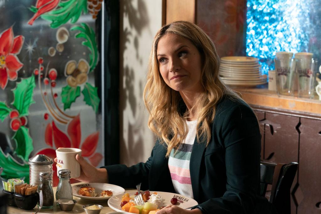 Vanessa Ray as Eddie Janko on 'Blue Bloods'