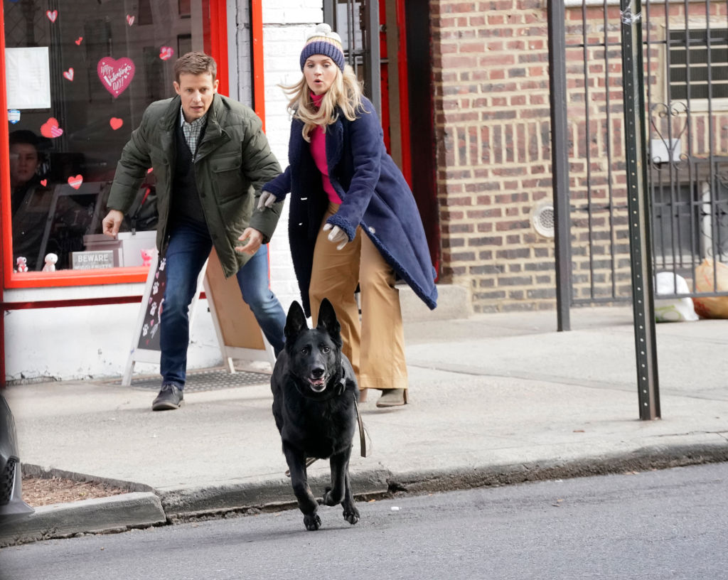 Will Estes as Jamie Reagan, Vanessa Ray as Eddie Janko on 'Blue Bloods'