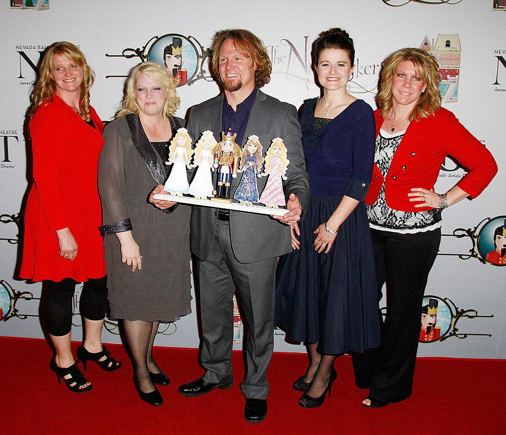 Christine, Janelle, Kody, Robyn, and Meri Brown