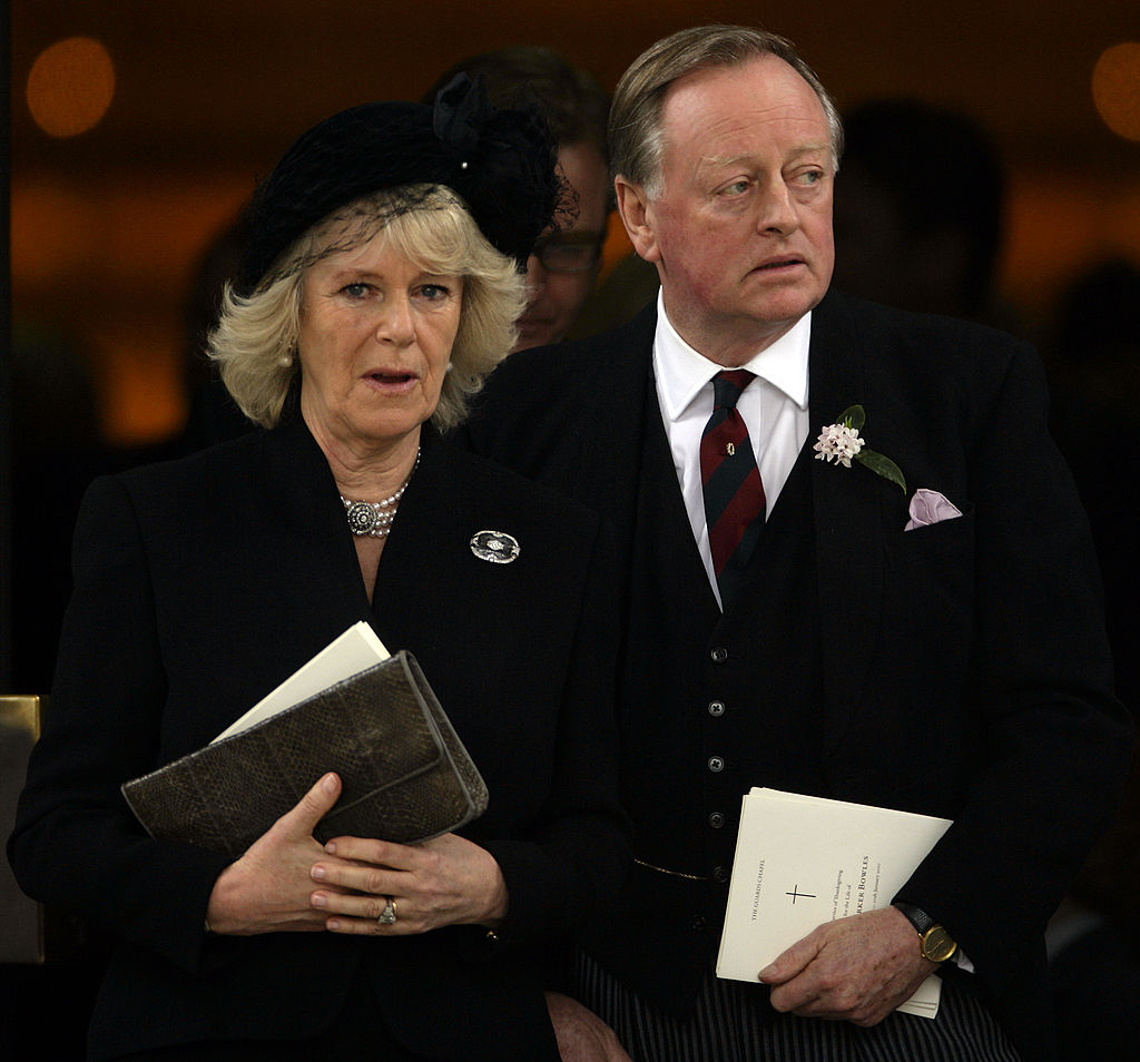 Camilla Parker Bowles and Andrew Parker Bowles