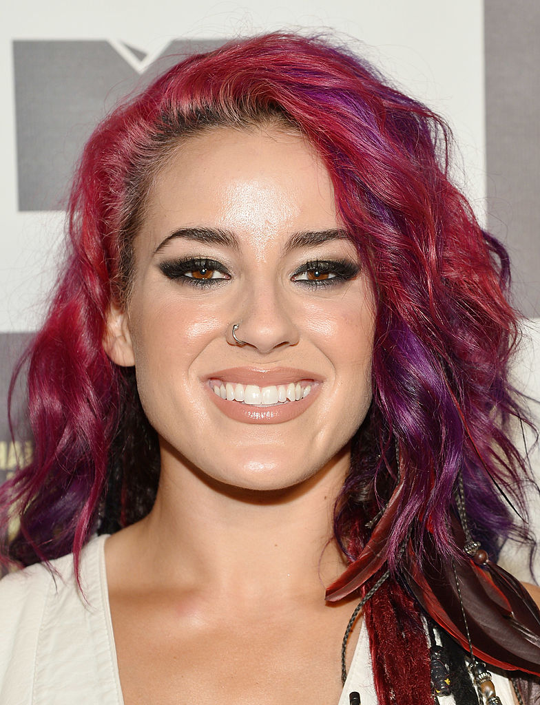 TV personality Cara Maria Sorbello attends MTV's 'The Challenge: Rivals II' final episode and reunion party