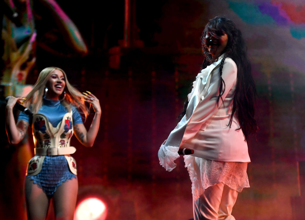 Cardi B and Selena Gomez