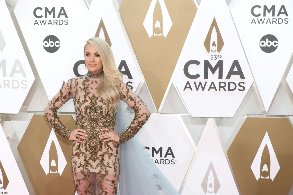 Carrie Underwood at the 53nd annual CMA Awards | Taylor Hill/Getty Images