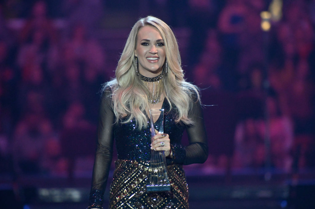 Carrie Underwood receives the CMT Artist of the Year award in  2019 | Duane Prokop/Getty Images for CMT/Viacom