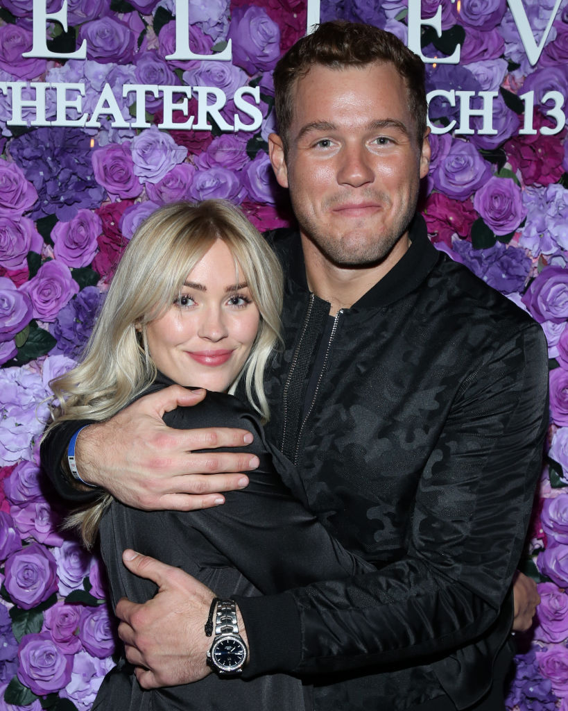 Cassie Randolph and Colton Underwood   Paul Archuleta/Getty Images