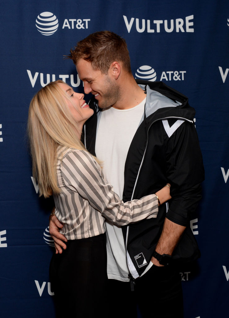 Cassie Randolph and Colton Underwood | Andrew Toth/Getty Images for New York Magazine