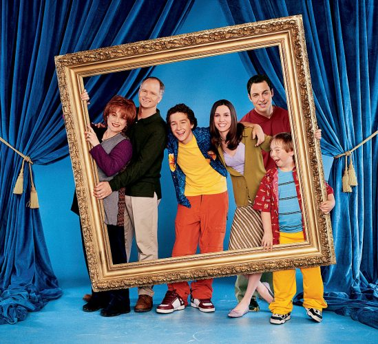 Donna Pescow as Eileen Stevens, Tom Virtue as Steve Stevens, Shia LaBeouf as Louis Stevens, Christy Carlson Romano as Ren Stevens, Nick Spano as Donnie Stevens, and Steven Anthony Lawrence as Beans on 'Even Stevens'