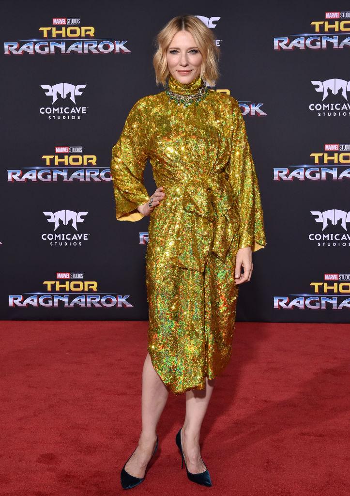 Cate Blanchett Thor Ragnarok MCU