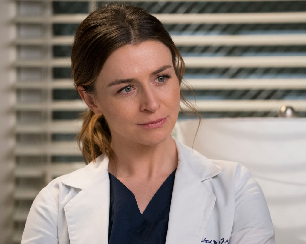 "Caterina Scorsone of ""Grey's Anatomy"""