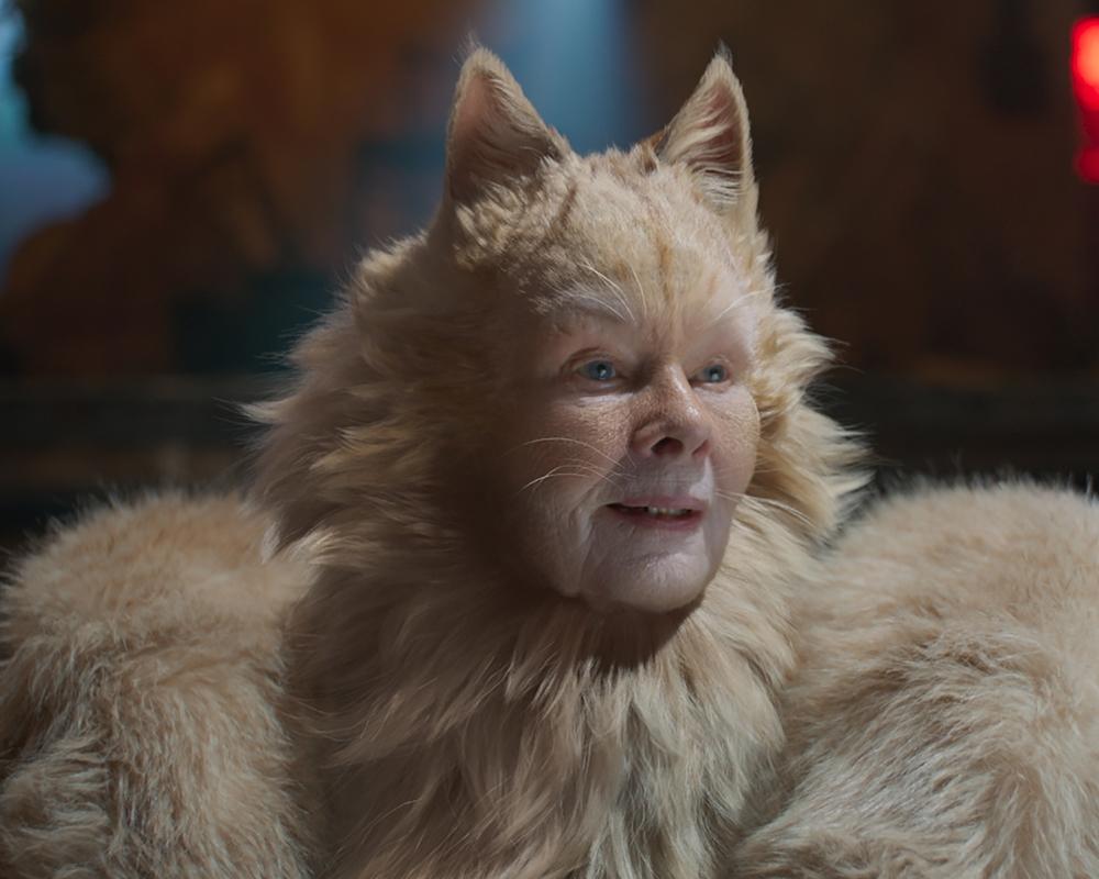 Razzie nominee Judi Dench in Cats