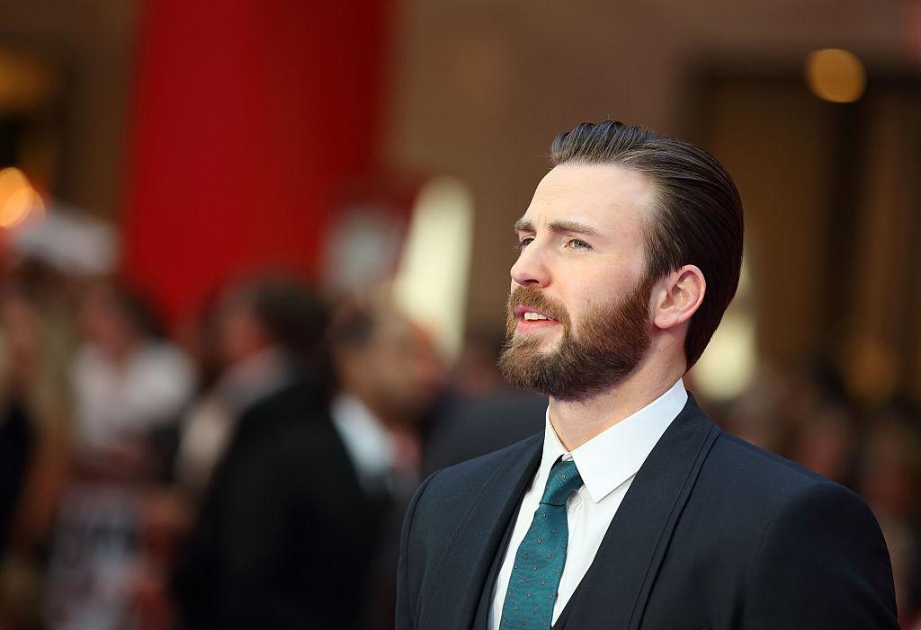 "Chris Evans arrives for UK film premiere ""Captain America: Civil War"""