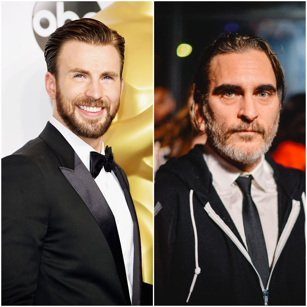 MCU star Chris Evans and Joaquin Phoenix