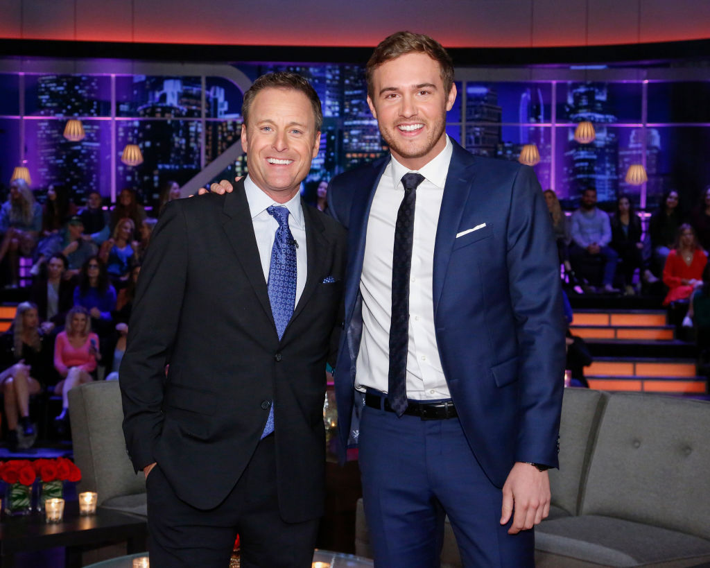 Chris Harrision and Peter Weber The Bachelor Finale 2020