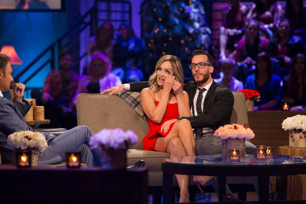 Clare Crawley and Benoit Beausejour-Savard on 'The Bachelor Winter Games: World Tells All'