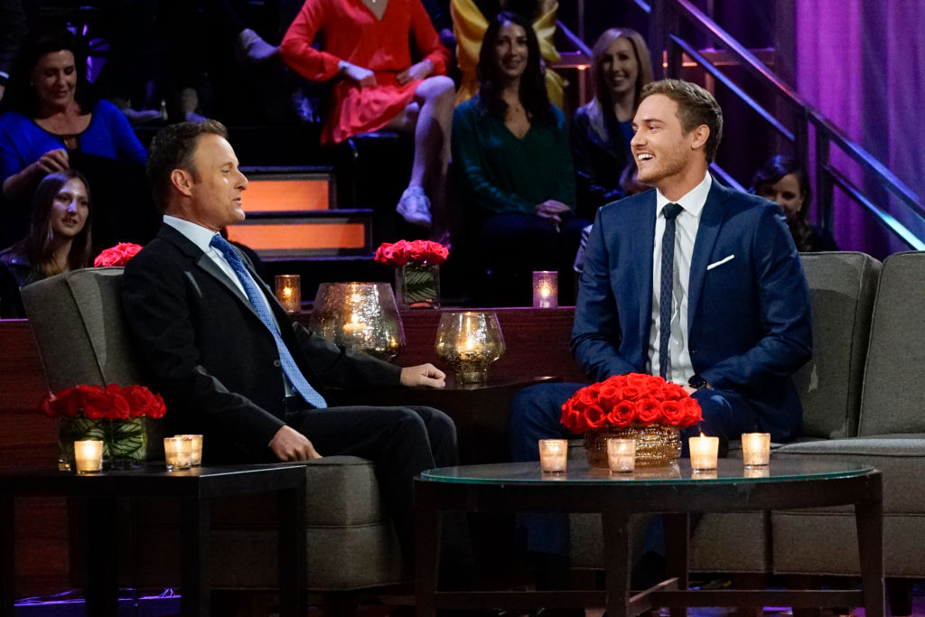 The Bachelor finale Chris Harrison and Peter Weber