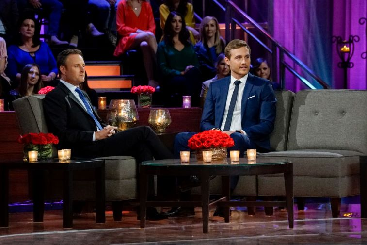 Chris Harrison and Peter Weber