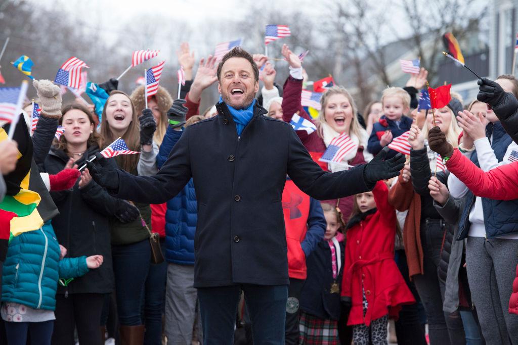 Chris Harrison on 'The Bachelor Winter Games'