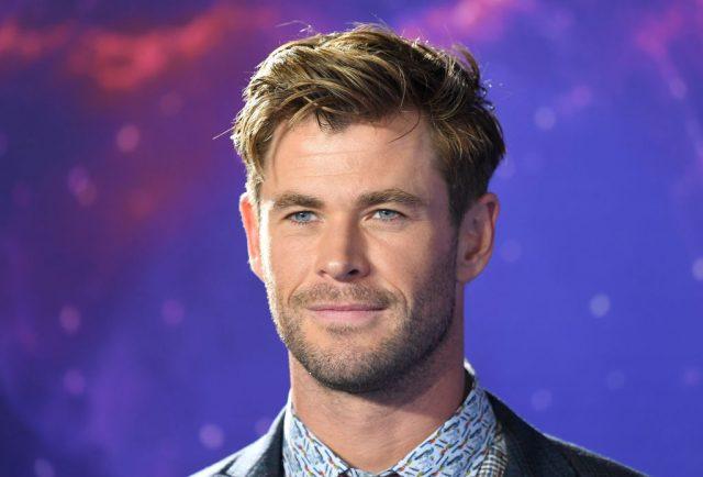 Chris Hemsworth attends a U.K. fan event for Avengers: Endgame on April 10, 2019
