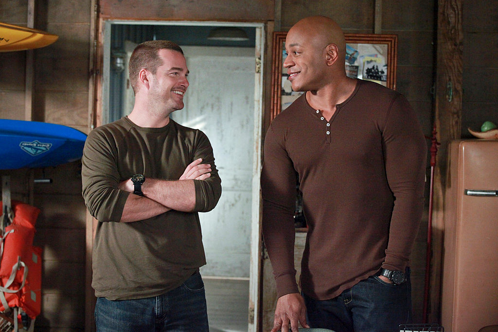(L-R) Chris O'Donnell as Special Agent G. Gallen, LL COOL J as Special Agent Sam Hanna on NCIS: LOS ANGELES   Richard Cartwright/CBS via Getty Images