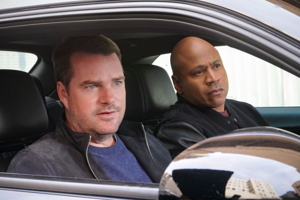 Chris O'Donnell and LL Cool J on NCIS Los Angeles.