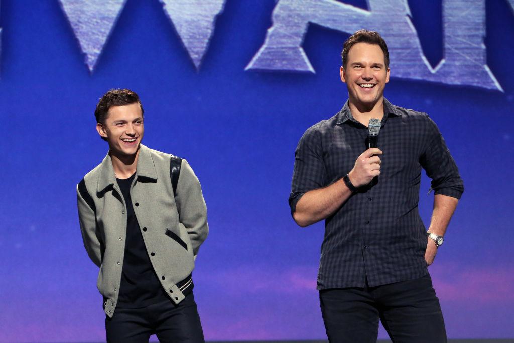Tom Holland and Chris Pratt of 'Onward' took part today in the Walt Disney Studios presentation