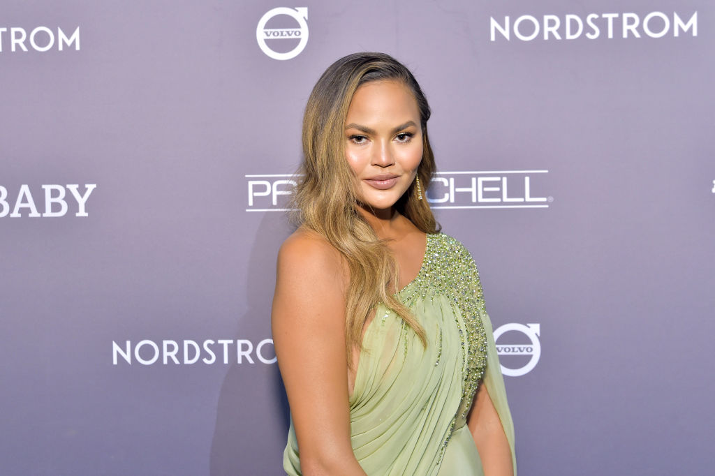 Chrissy Teigen attends the 2019 Baby2Baby Gala