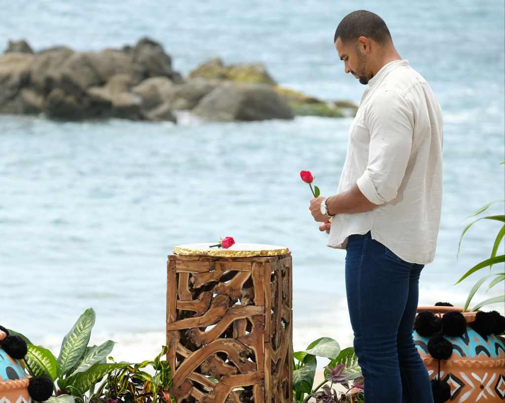 Clay Harbor at the end of 'Bachelor in Paradise'