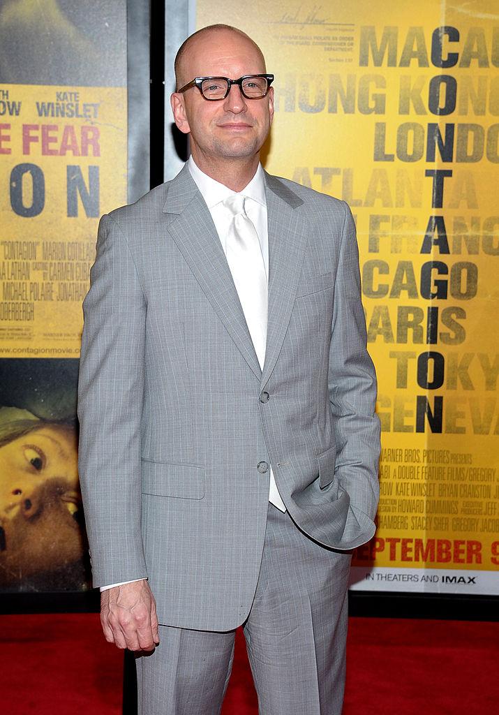 Steven Soderbergh director of Contagion