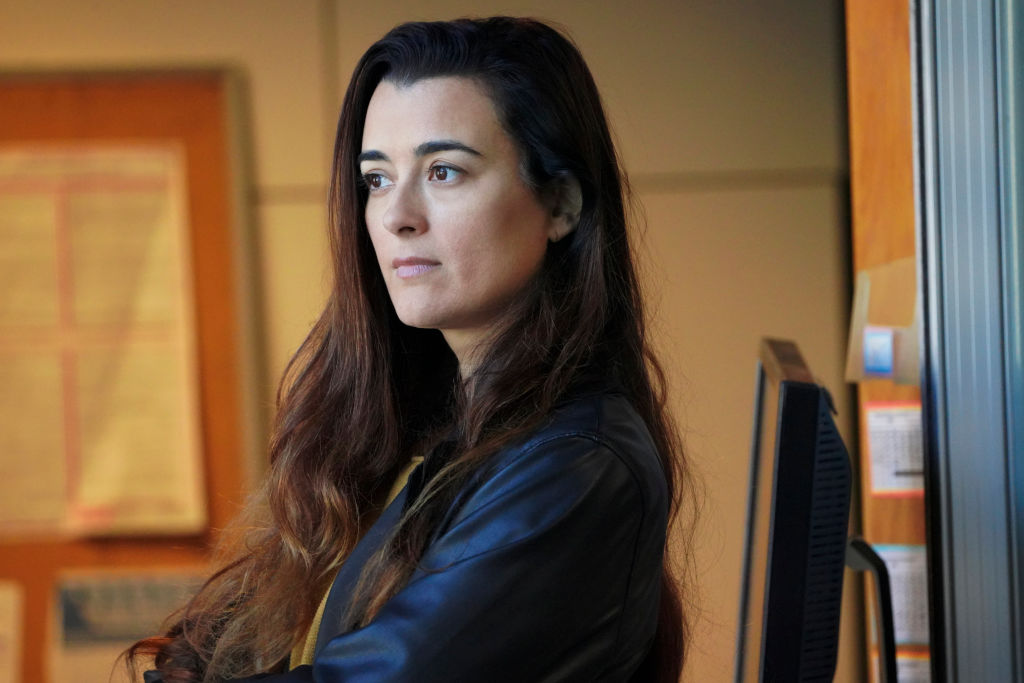 Cote de Pablo as Ziva David | Bill Inoshita/CBS via Getty Images