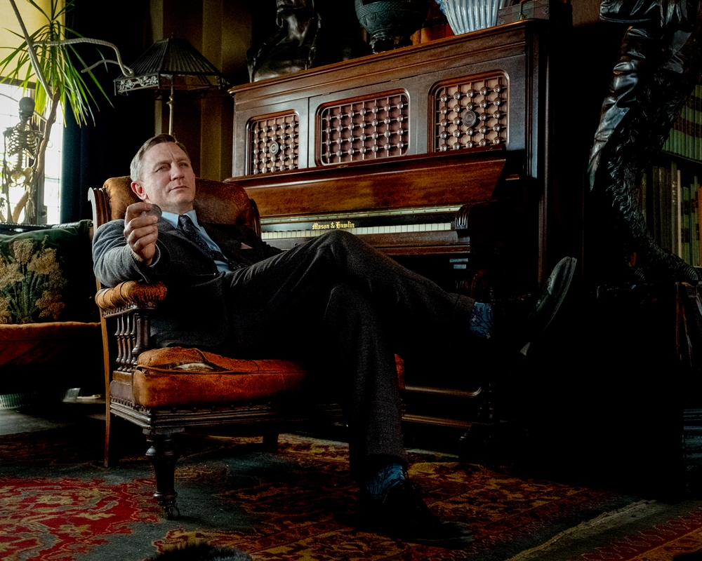 Daniel Craig as Benoit Blanc