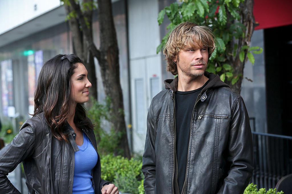 Daniela Ruah and Eric Christian Olsen    Michael Yarish/CBS via Getty Images