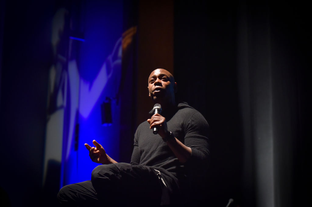 Dave Chappelle at an event in September 2017
