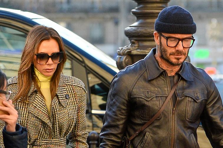 Victoria Bekham and David Beckham