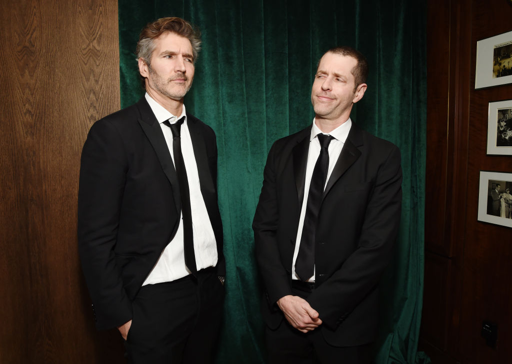 'Game of Thrones' showrunners David Benioff and D.B. Weiss attend 2020 Netflix SAG After Party at Sunset Tower on January 19, 2020 in Los Angeles, California.
