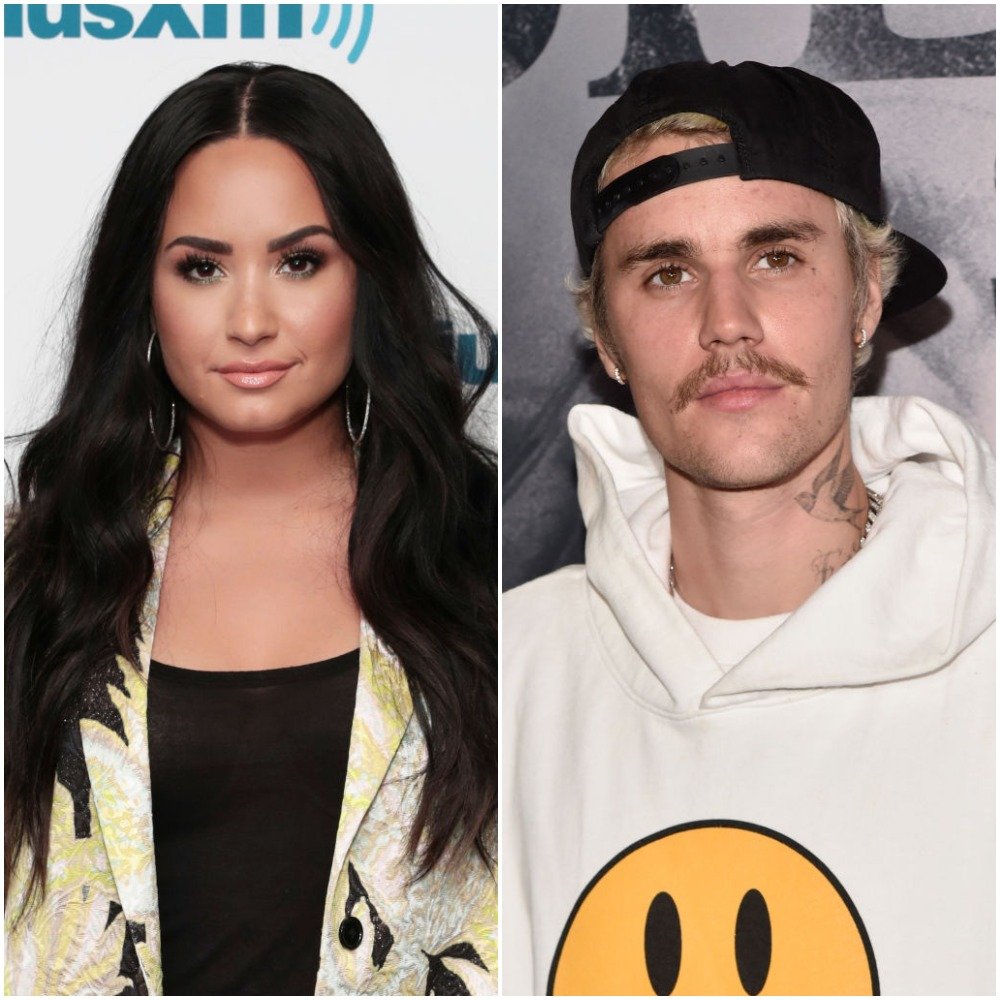 Demi Lovato and Justin Bieber