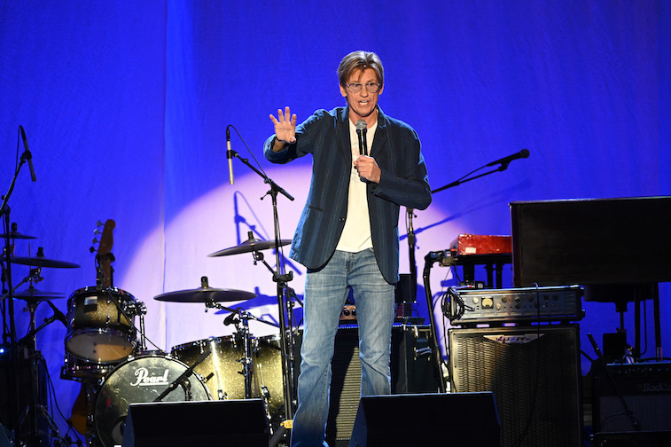 Denis Leary performs onstage