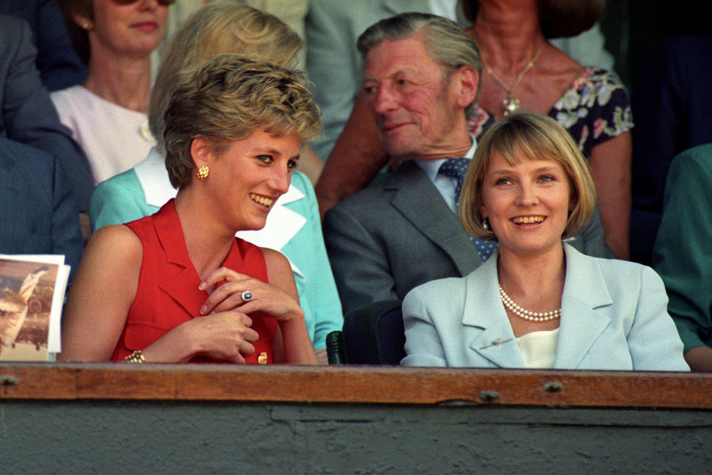 Princess Diana and Julia Samel