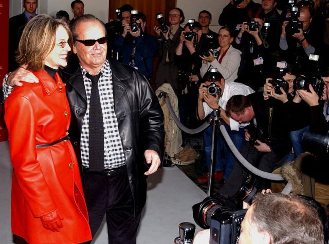 Diane Keaton and Jack Nicholson at the 2004 Berlin Film Festival on Feb.6, 2004
