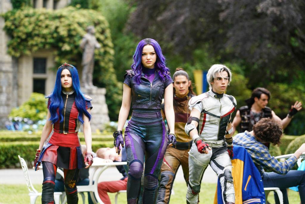 Disney Channel Original Movie, 'Descendants 3,' featuring Dove Cameron, Cameron Boyce, and Sofia Carson