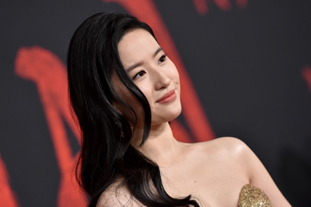 "Yifei Liu attends the premiere of Disney's ""Mulan"""