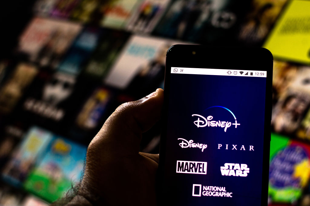 Disney+ (Plus) logo