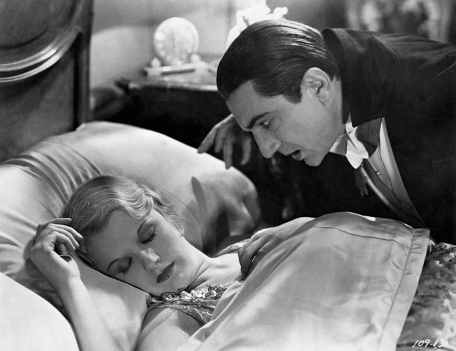 Bela Lugosi and Helen Chandler in 'Dracula'   Universal Pictures