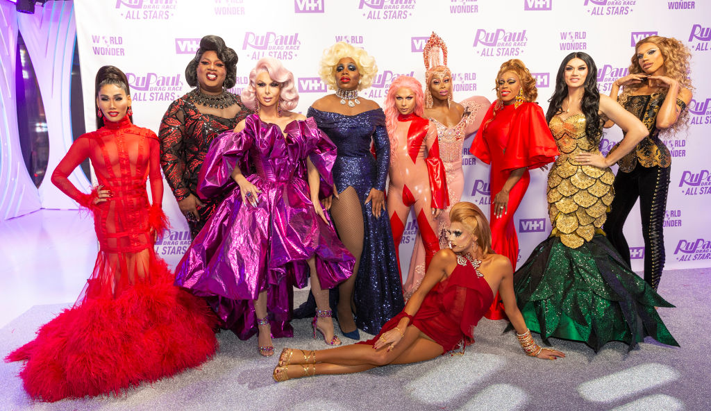 Contestants attend Meet the Queens of 'RuPaul's Drag Race: All Stars'