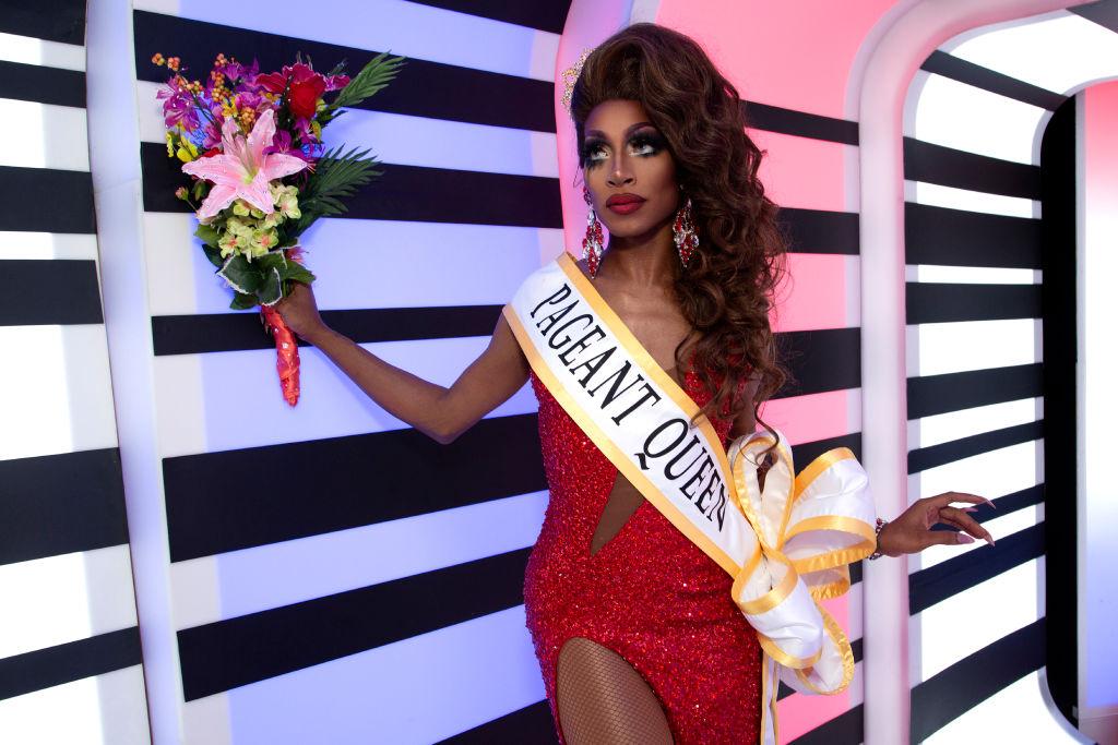 Jaida Essence Hall attends 'RuPaul's Drag Race Season 12' meet the queens