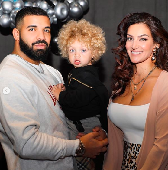 Drake and Sophie Brussaux
